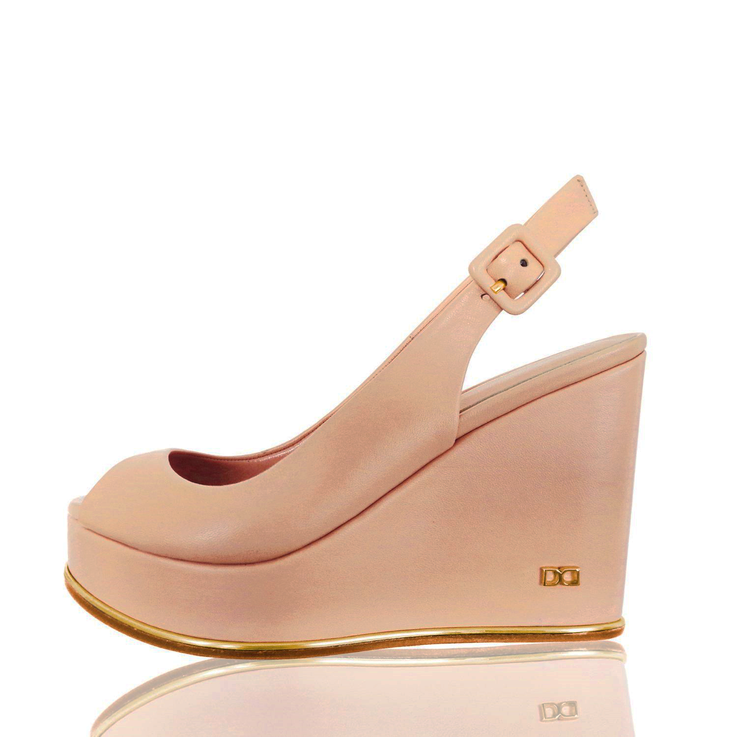 d0c0b7767c7 Basic Wedge Nude 8